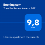 Traveller Review Award 2021 booking